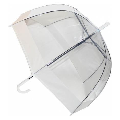 Blooming Brollies Dámský průhledný holový deštník Clear Domes EDBCWH