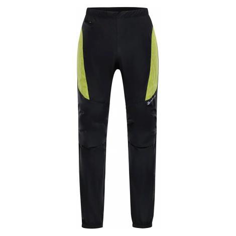 Pánské kalhoty Alpine Pro HUW 2 - černo-zelená