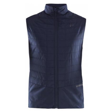 Pánská vesta CRAFT Storm Thermal tmavě modrá