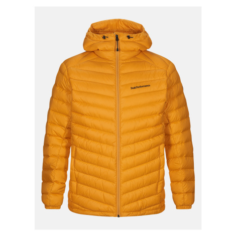 Bunda Peak Performance Frost Down Hood Jacket - Oranžová