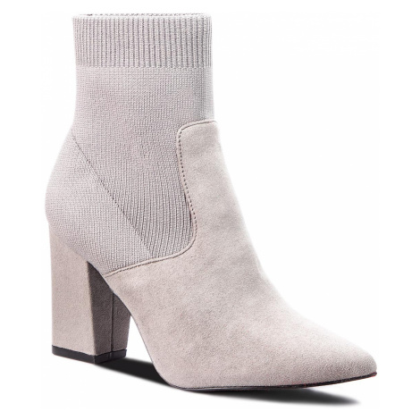 Polokozačky STEVE MADDEN - Renne Ankle Boot SM11000189-04001-005 Grey