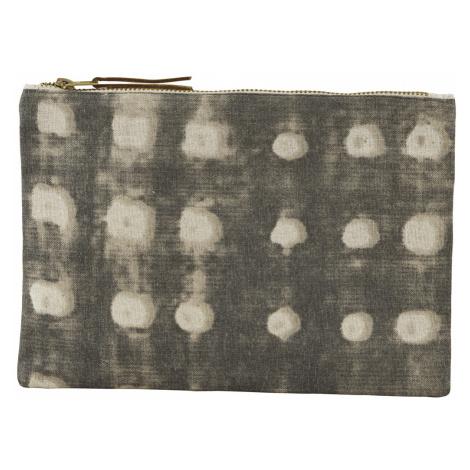 Sada 2 ks − Šedá kosmetická taštička Batik