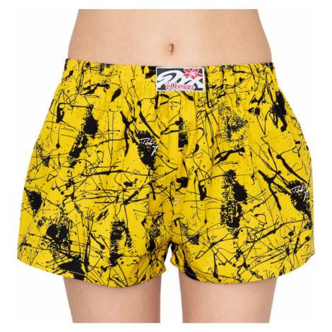 Women's shorts Styx art classic rubber Jáchym yellow (K751)