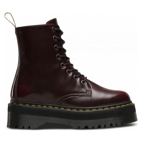 Dr. Martens Vegan Jadon II Platform Boots hnědé DM22563600 Dr Martens