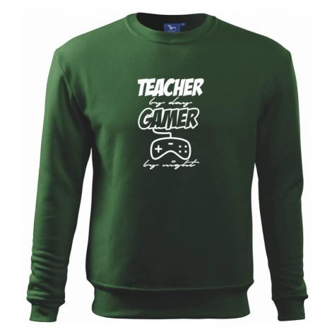 Teacher by Day Gamer by Night - Mikina Essential pánská