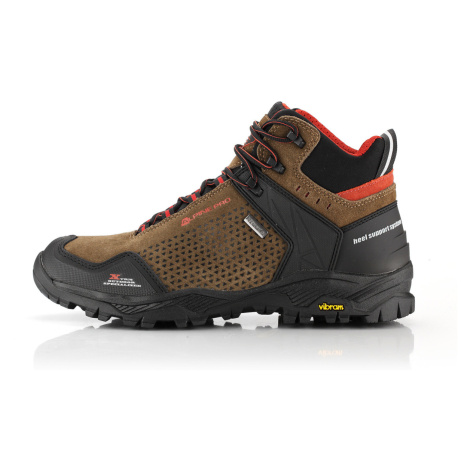 ALPINE PRO ANGOON Unisex obuv outdoorová UBTP189994 hnědá