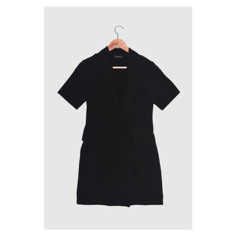 Trendyol Black Pocket Detail Jacket Dress