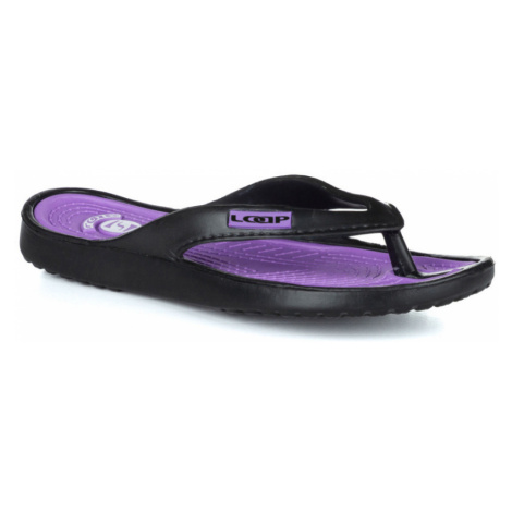 LOAP FERA Dámské žabky SSL1768V15K Black   Violet