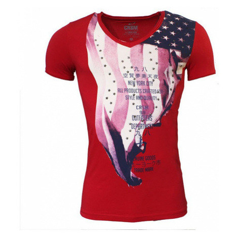 CARISMA tričko pánské 4080 krátký rukáv nýty
