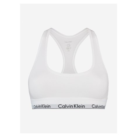 Podprsenka Calvin Klein Bílá