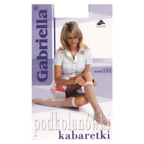 Dámské podkolenky Gabriella 151 kabaretky univerzální