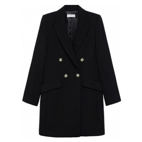 MANGO Přechodný kabát 'Sugus' černá