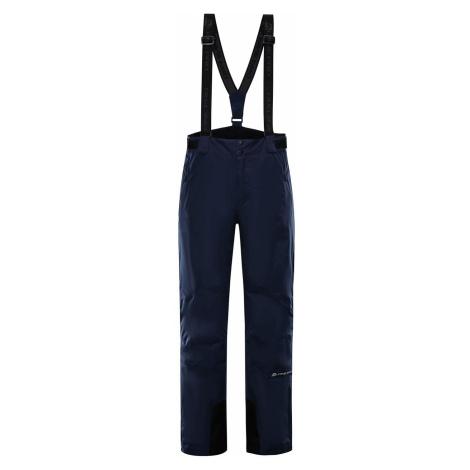Pánské lyžařské kalhoty Alpine Pro SANGO 7 - tmavě modrá