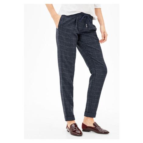 s.Oliver dámské kárované chino kalhoty 14.709.73.2264/59N0