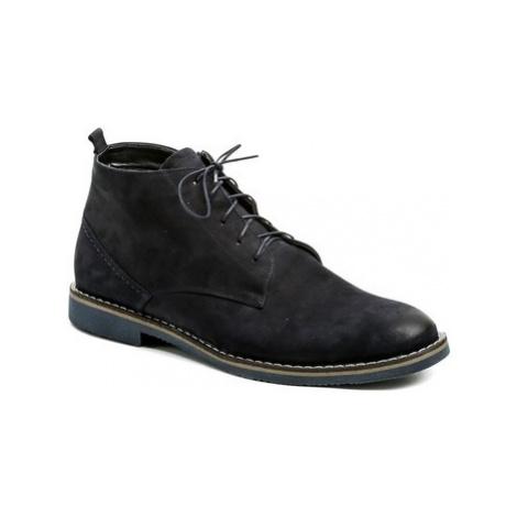 Abil Agda 707 modré pánské zimní boty Modrá