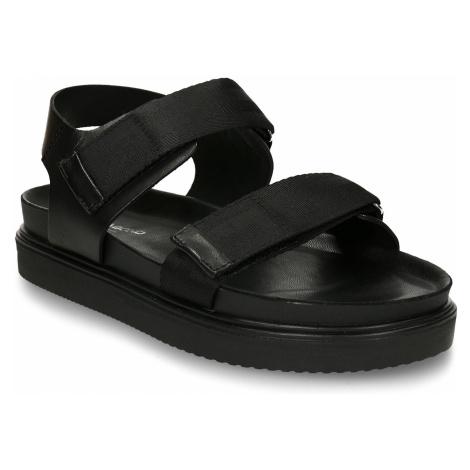Černé pánské kožené sandály Vagabond