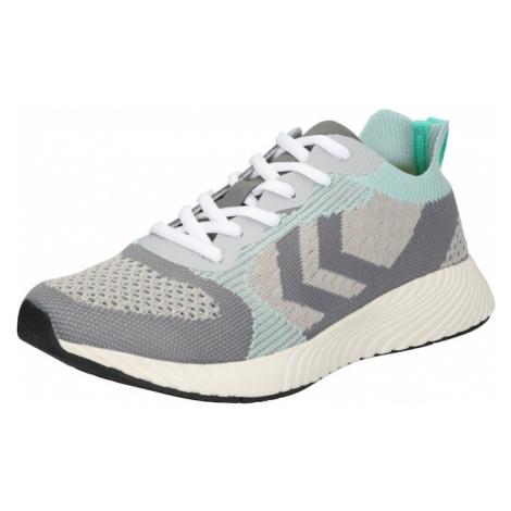 Hummel Sportovní boty stříbrně šedá / světle šedá / mátová