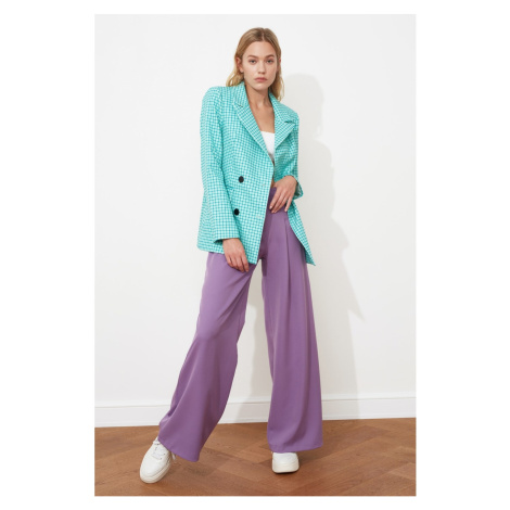 Women's blazer Trendyol Button