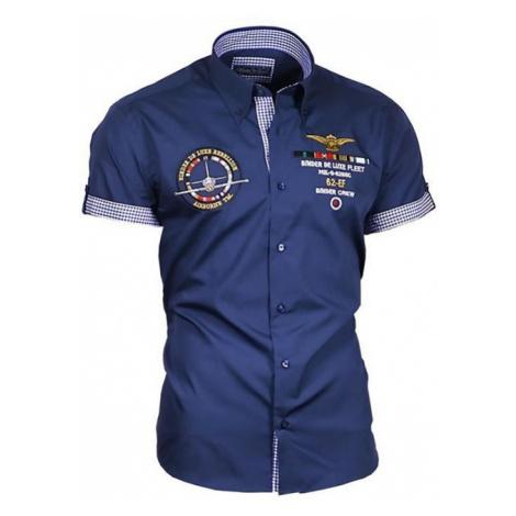 BINDER DE LUXE košile pánská 82604 s krátkým rukávem