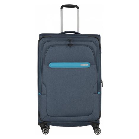 Travelite Cestovní kufr Madeira L Navy/Blue 86/99 l