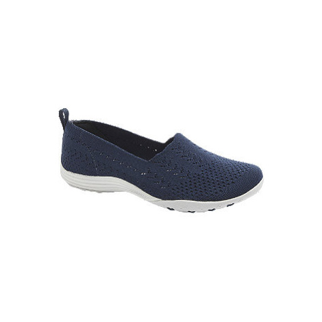 Tmavě modrá slip-on obuv Skechers