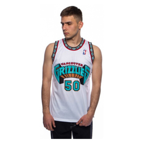 Mitchell & Ness Vancouver Grizzlies #50 Bryant Reeves white Swingman Jersey