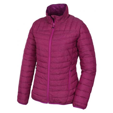 Husky Nodiq L, výrazně fialová / fialová Dámská plněná oboustranná bunda