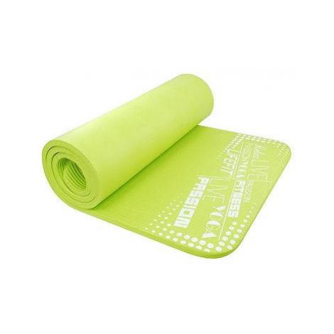 Lifefit Yoga Mat Exkluziv světle zelená