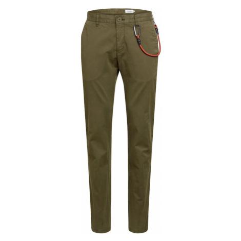 Marc O'Polo DENIM Chino kalhoty olivová
