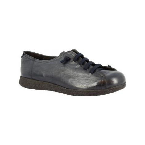 Leonardo Shoes 1269 BLEU Modrá