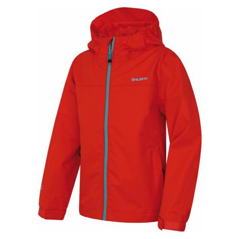 Husky Zunat Kids, červená Dětská outdoorová bunda