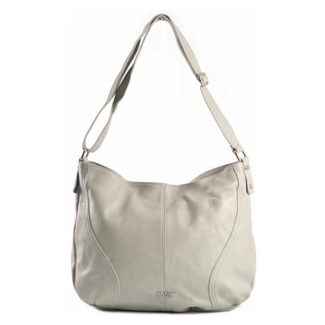 Bright Klasická dámská kabelka/vak měkká velká A4 šedá, 42 x 12 x 32 (BR18-LDP4053-08DOL)