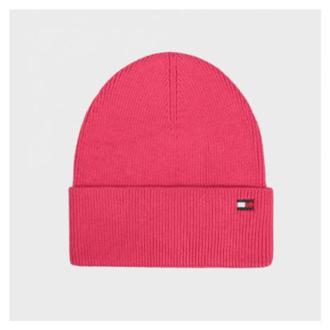 Tommy Hilfiger dámská růžová zimní čepice