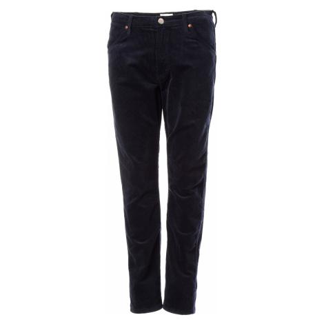 Manšetrové kalhoty Wrangler 11MWZ pánské tmavě modré