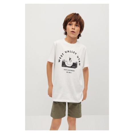 Mango Kids - Dětské bavlněné tričko Utah