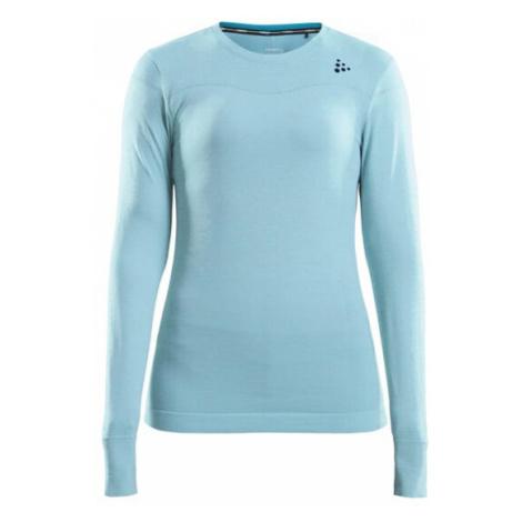 Dámské tričko CRAFT Fuseknit Comfort LS světle modrá