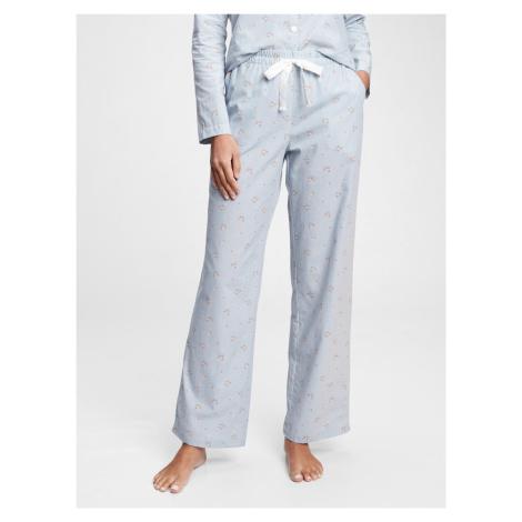 GAP modré dámské pyžamové kalhoty ma pants