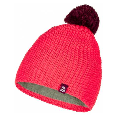 ZODO children's winter hat pink LOAP
