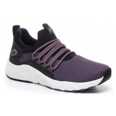 Lotto BREEZE RISE W fialová - Dámská volnočasová obuv