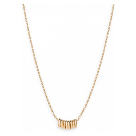 Rosefield Iggy Multi Hoop Necklace Gold