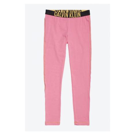 PRO DĚTI! Calvin Klein dívčí legíny - růžová