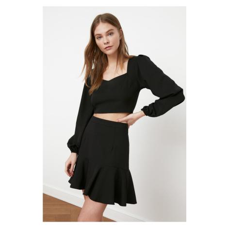 Trendyol Black Flywheet Skirt