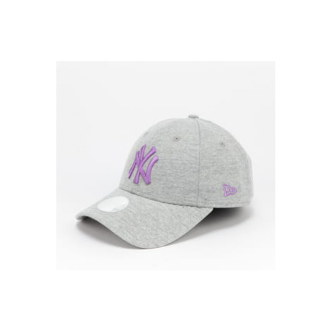 New Era 940W MLB Jersey Essential NY melange šedá / fialová