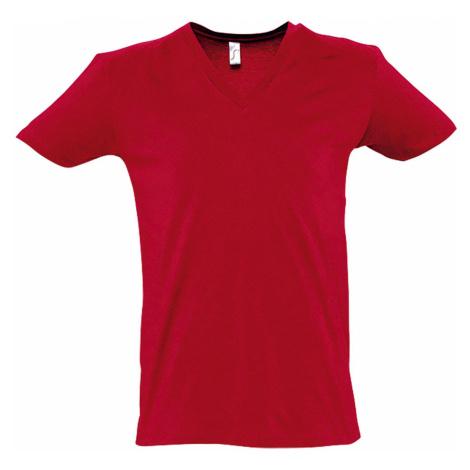 SOĽS Pánské triko MASTER 11155145 Red SOL'S
