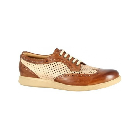 Leonardo Shoes 7797 TOM CAPRI AV BRANDY BEIGE Béžová
