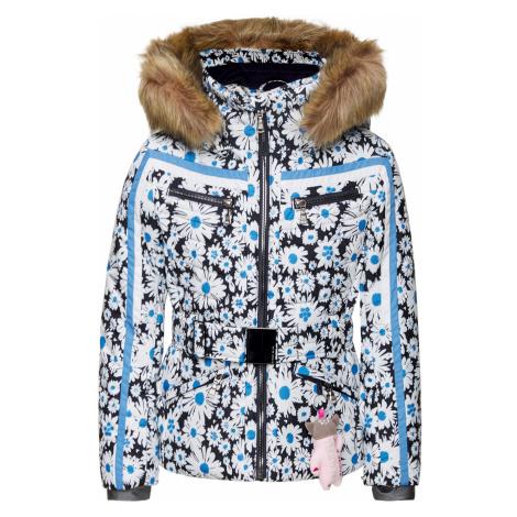 Lyžařská bunda POIVRE BLANC modrá vzorkování