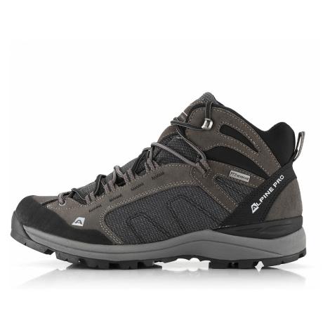ALPINE PRO CULMORY Unisex outdoor obuv UBTR056779 tmavě šedá
