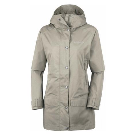 Columbia RAIN CREEK TRENCH béžová - Dámský outdoorový kabát