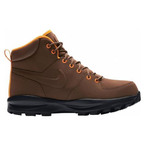 Nike Manoa Leather hnědá