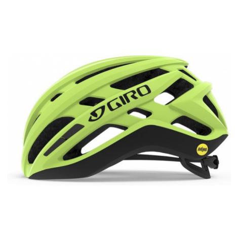 Pánská cyklistická helma Giro Agilis MIPS Highlight Yellow